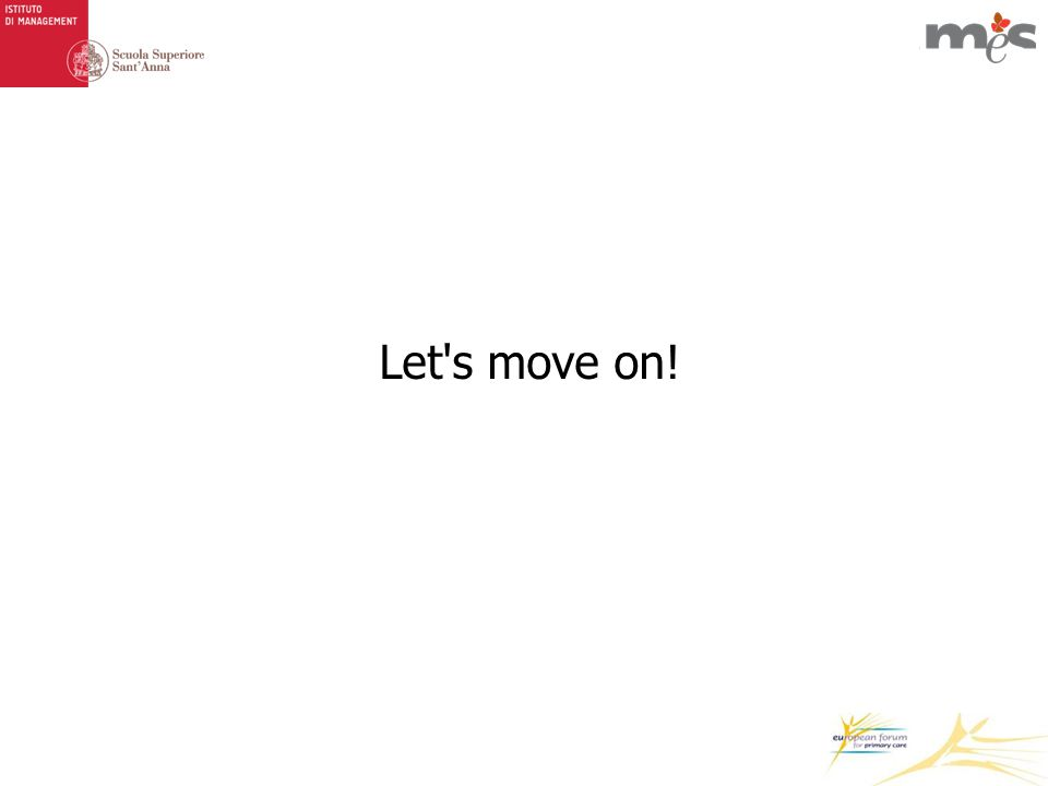 Let s move on!