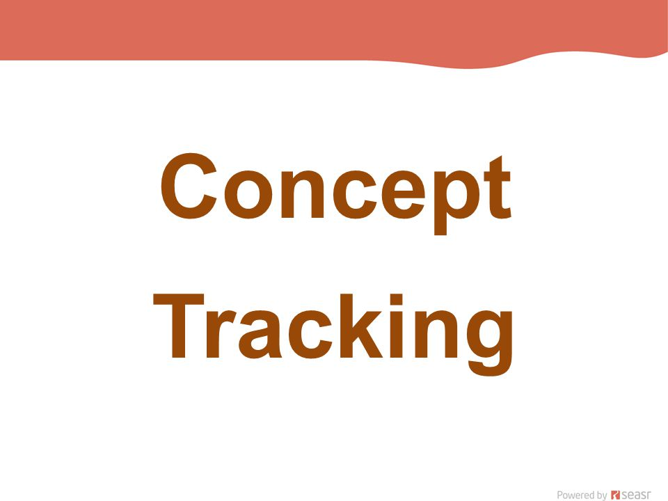 Concept Tracking