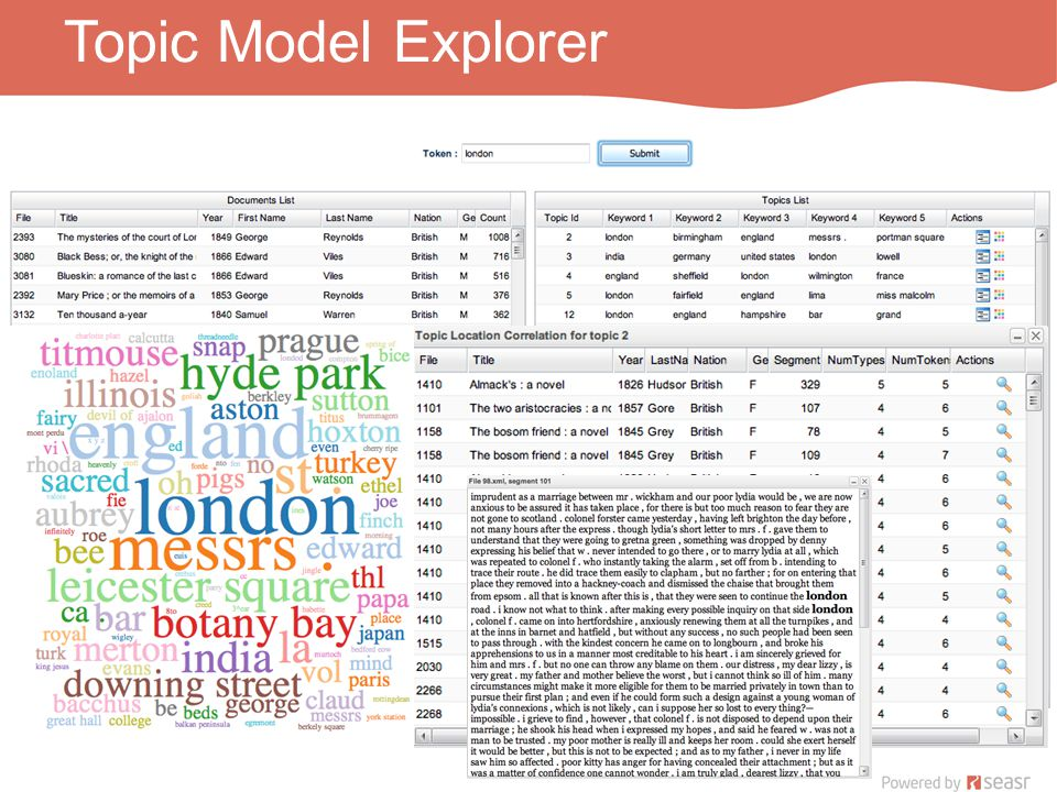 Topic Model Explorer