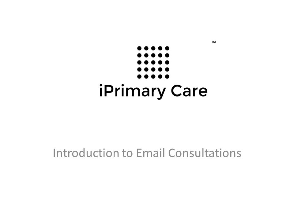 Introduction to Email Consultations