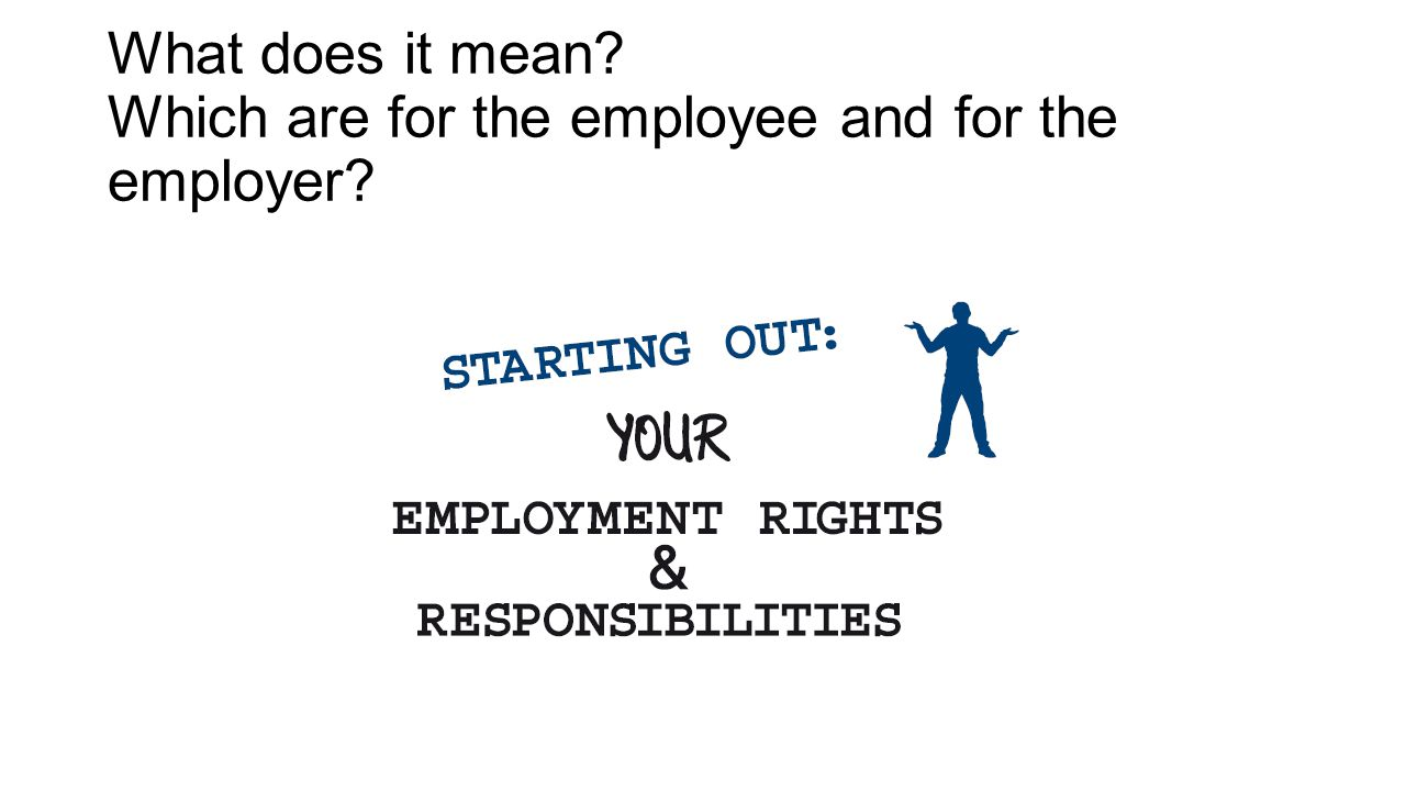 What does it mean Which are for the employee and for the employer