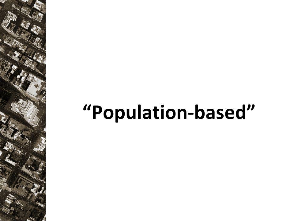 """""""Population-based"""""""