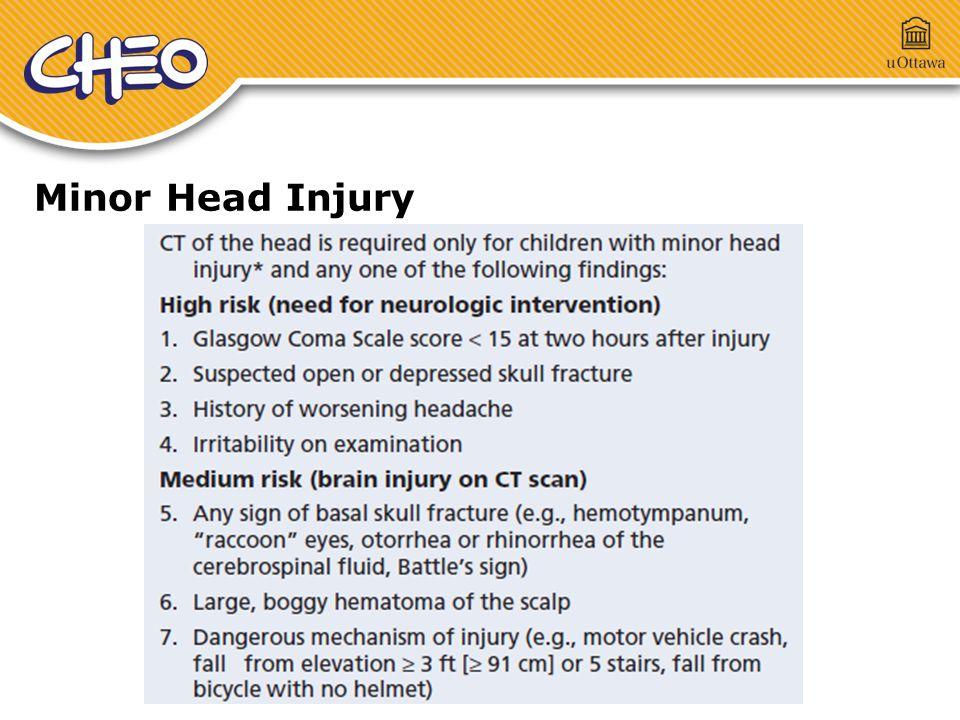 Minor Head Injury