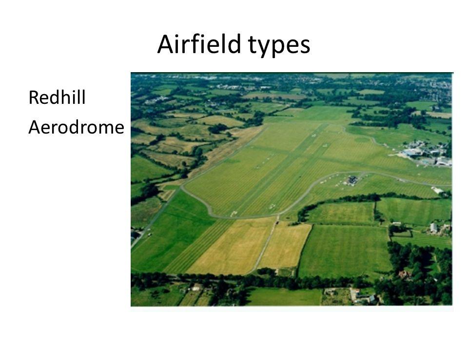 Airfield types Redhill Aerodrome