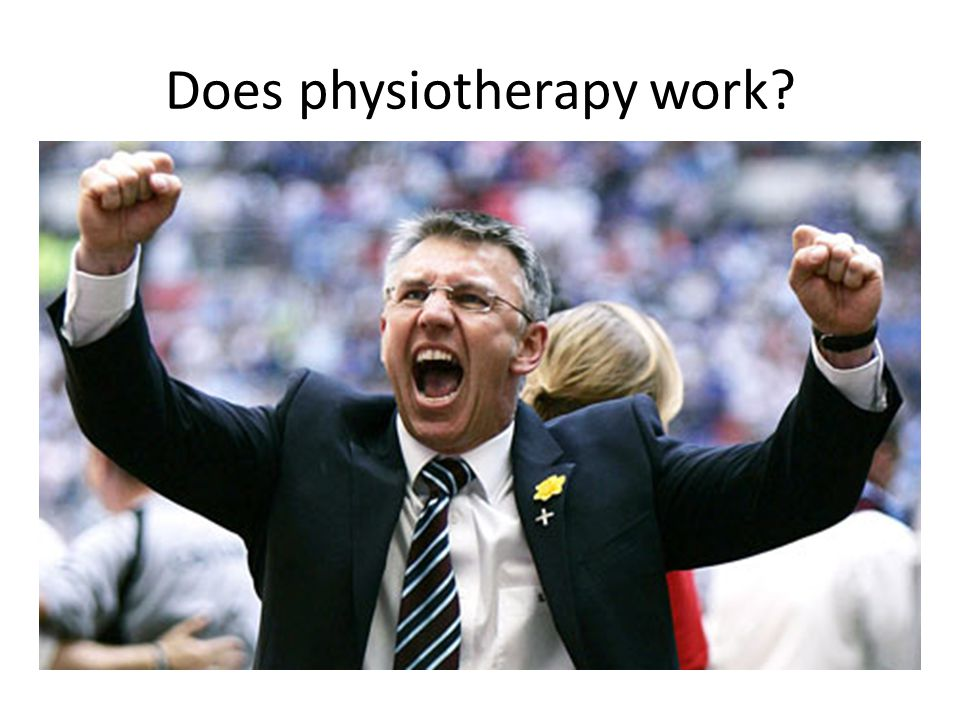 Does physiotherapy work
