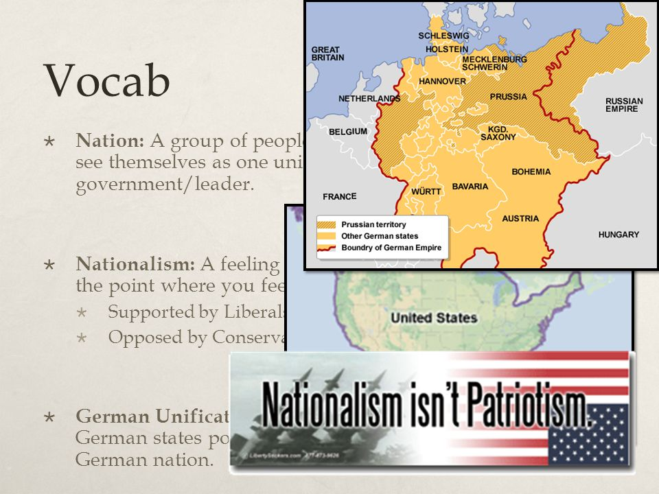 Germany 1860 1.What is unification . 2.