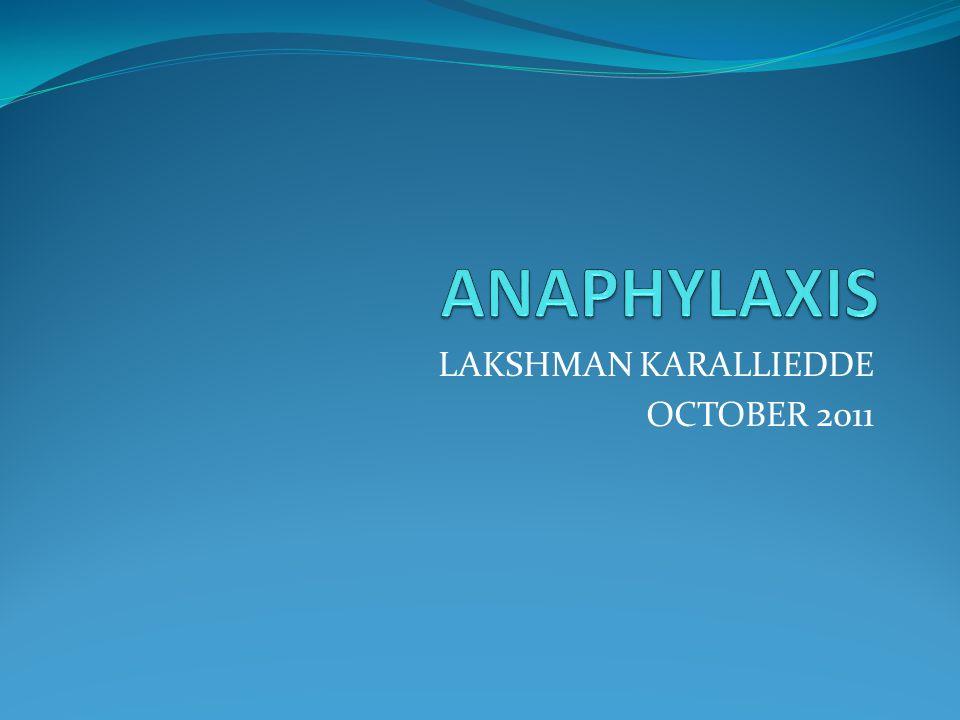 LAKSHMAN KARALLIEDDE OCTOBER 2011