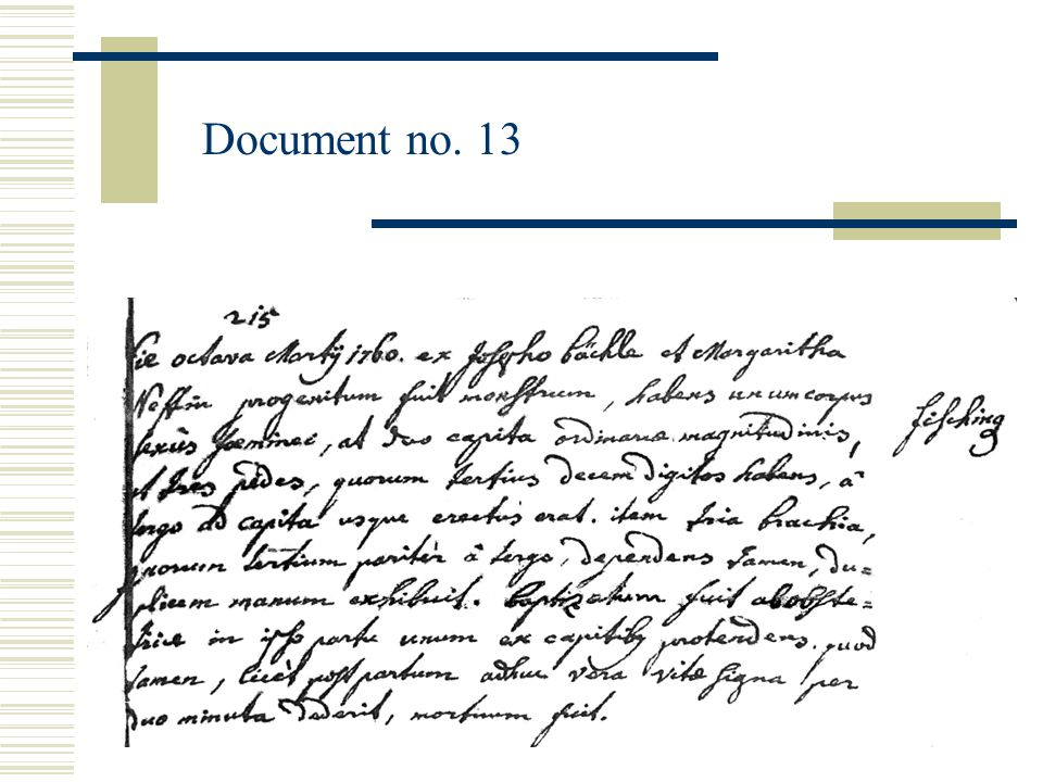 Document no. 13