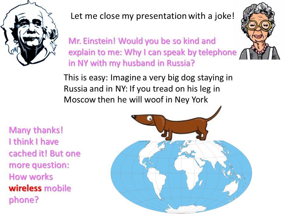 Mr. Einstein.