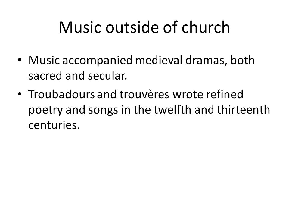 WESTERN CHRISTIAN CHANT AND LITURGY