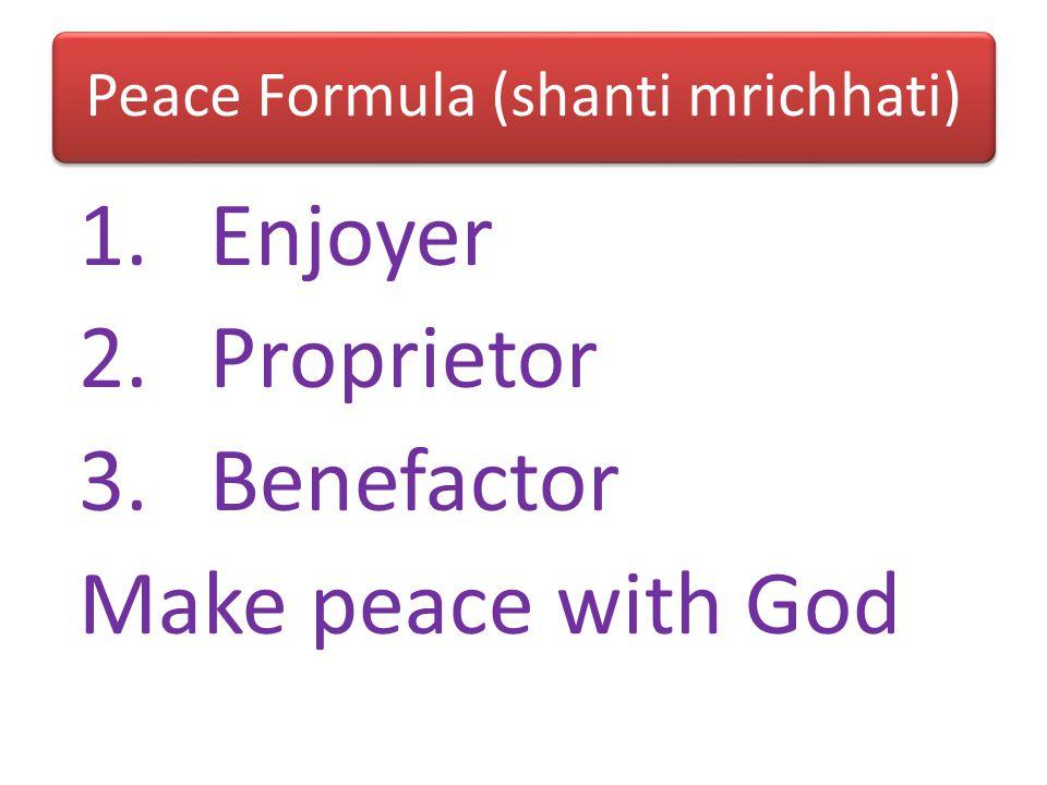 Brahma-nirvana 1.Mat:Life end with death 2.Jnani: Life begins with death 3.Bhaktas: Life begins whenever we start serving Krishna
