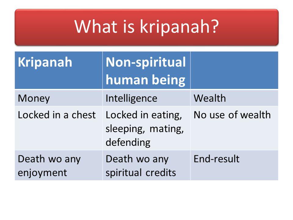 What is avaram karma? For Krishna: karma-kanda that keeps one bound in samsara For Arjuna: Fighting the war that brings sinful reactions