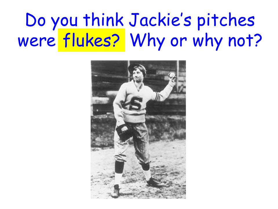 Why might Jackie have felt stunned after she struck out both players.
