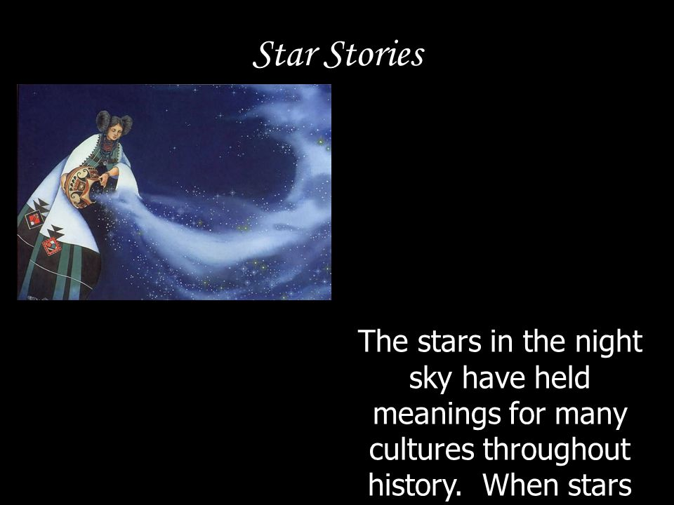 The stars in the night sky have held meanings for many cultures throughout history. When stars form a shape or character this is called a constellatio