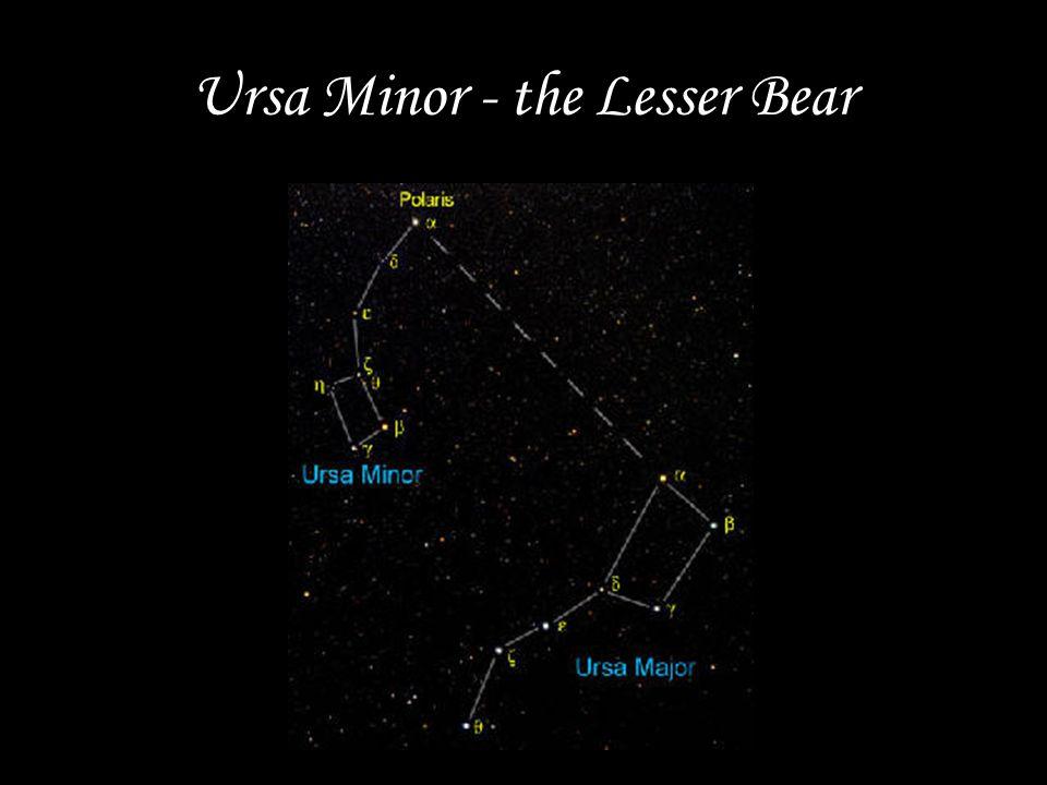 Ursa Minor - the Lesser Bear