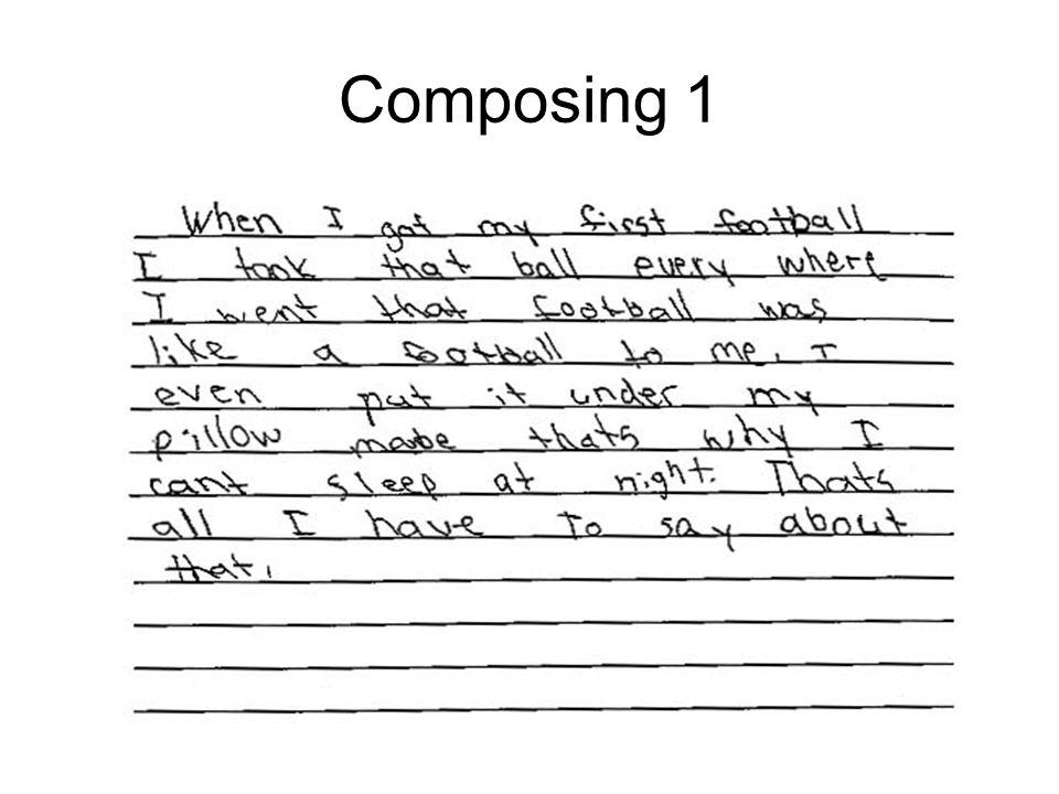 Composing 1