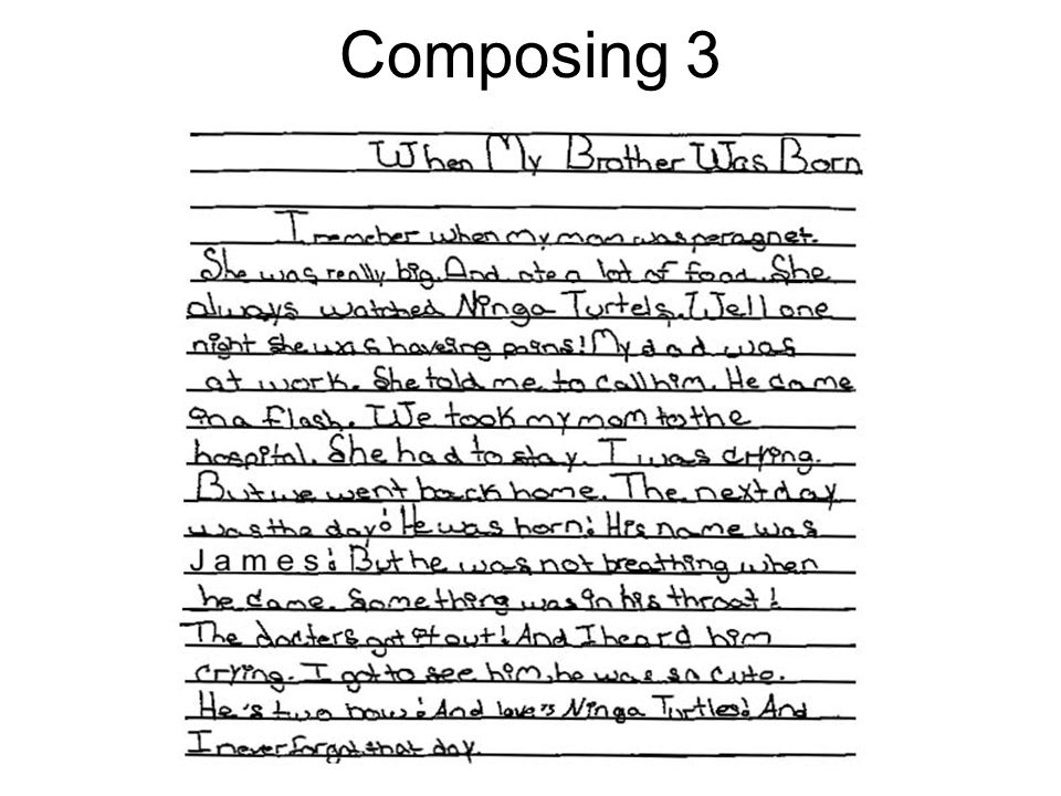 Composing 3
