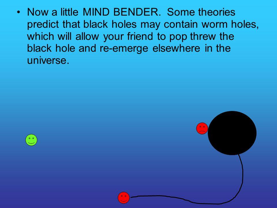 Now a little MIND BENDER.