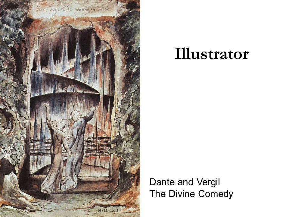 Illustrator Dante and Vergil The Divine Comedy
