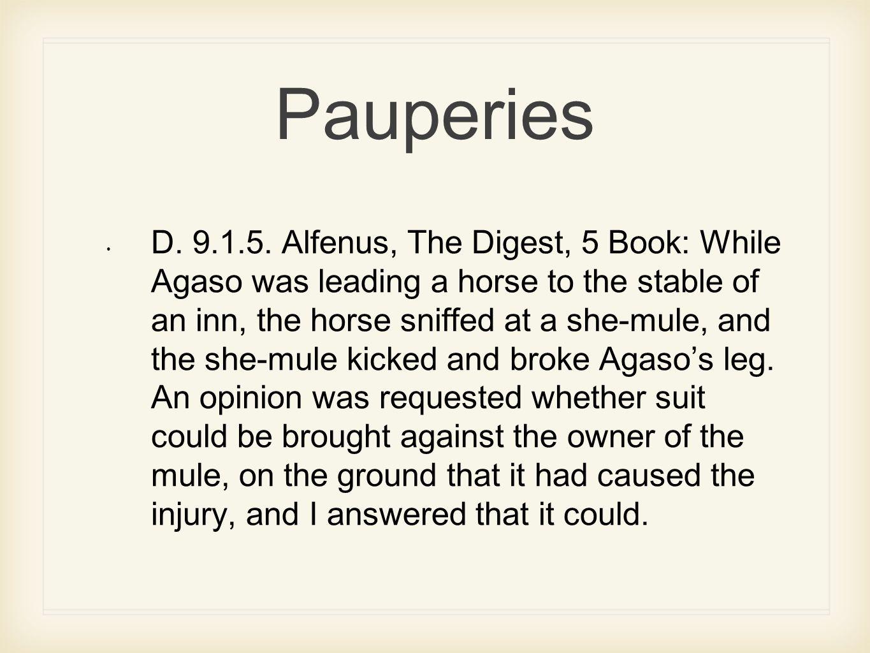 Pauperies D.9.1.5.