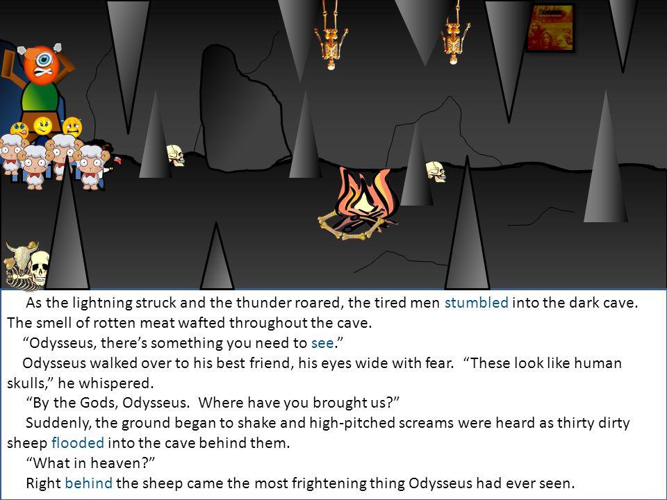 Lightning shot across the sky and illuminated everything like a giant fireball.