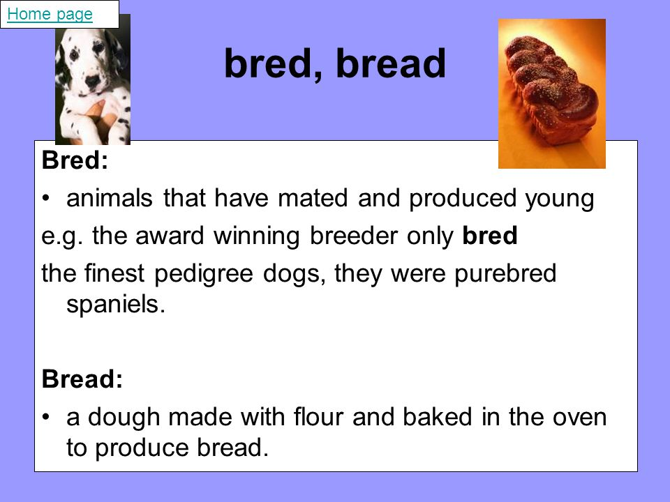 need, knead Need: to not have something that is useful or that you have to have e.g.