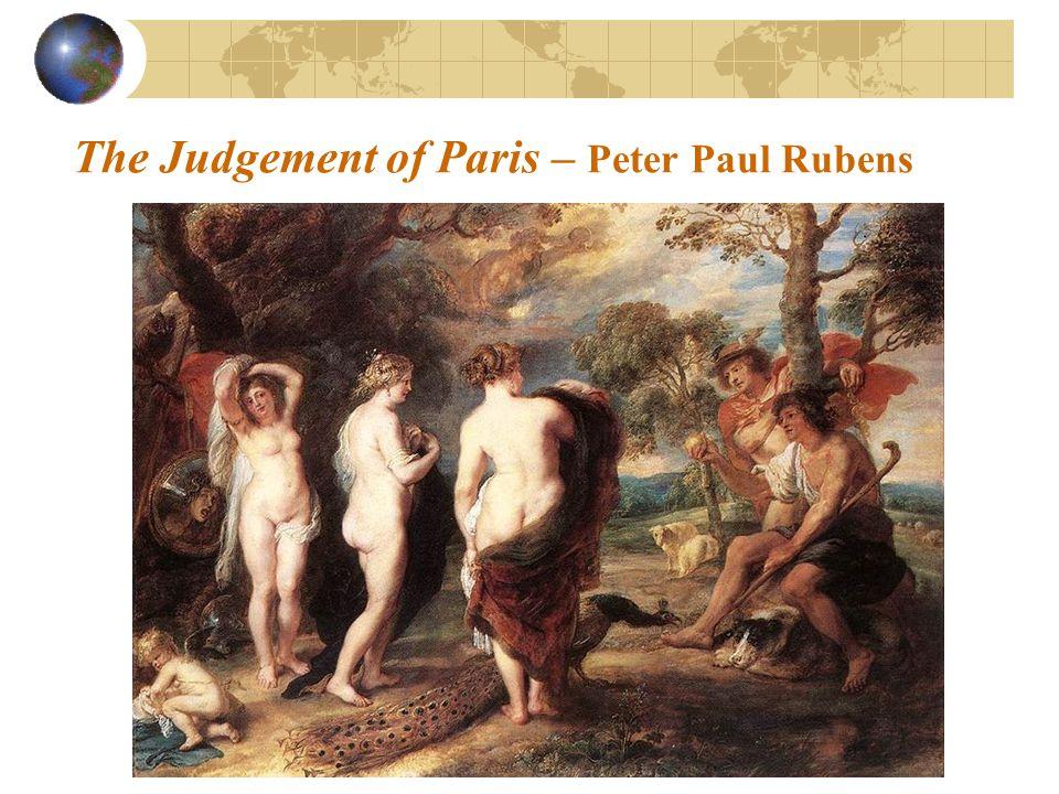 The Judgement of Paris – Peter Paul Rubens