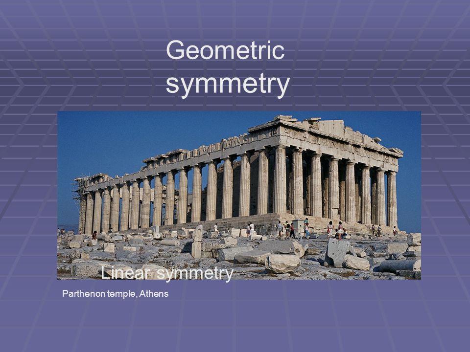 Geometric symmetry Linear symmetry Parthenon temple, Athens