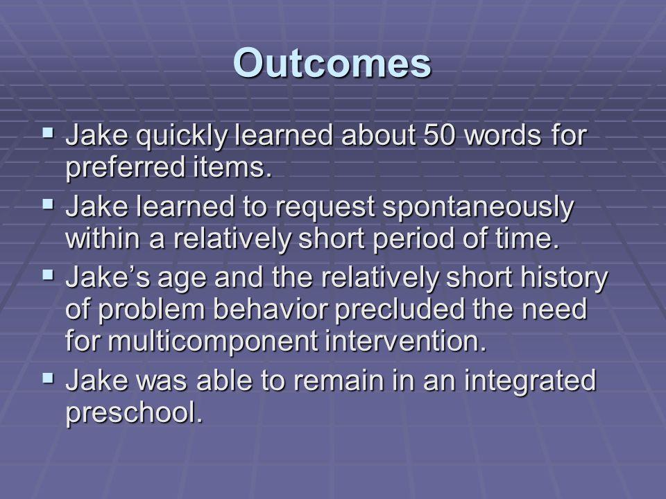 Long-term Intervention  Teach appropriate break response.