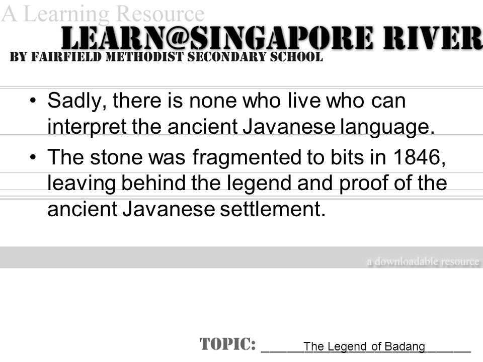 Sadly, there is none who live who can interpret the ancient Javanese language.