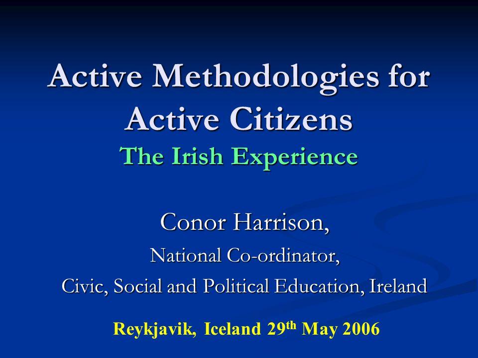 Citizenship Education in the Irish Curriculum