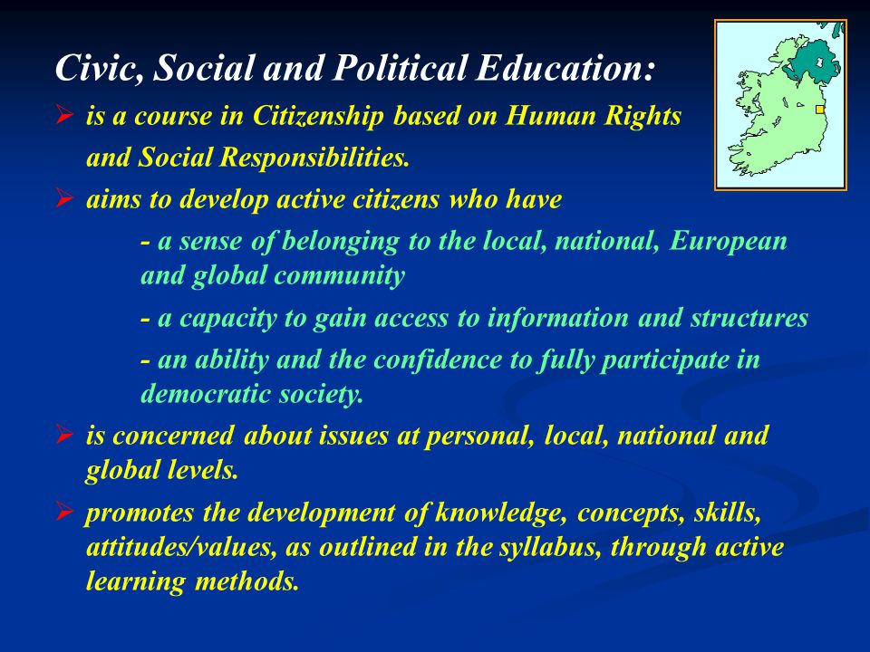 Based on 7 Concepts CITIZENSHIP Democracy Stewardship Rights & Responsibilities Interdependence Human Dignity Law Development
