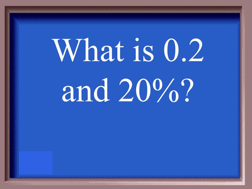Convert 5/25 to a decimal and percent