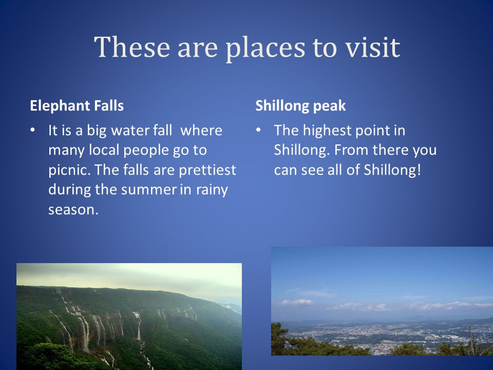 Shillong Shillong is the capital of Meghalaya.