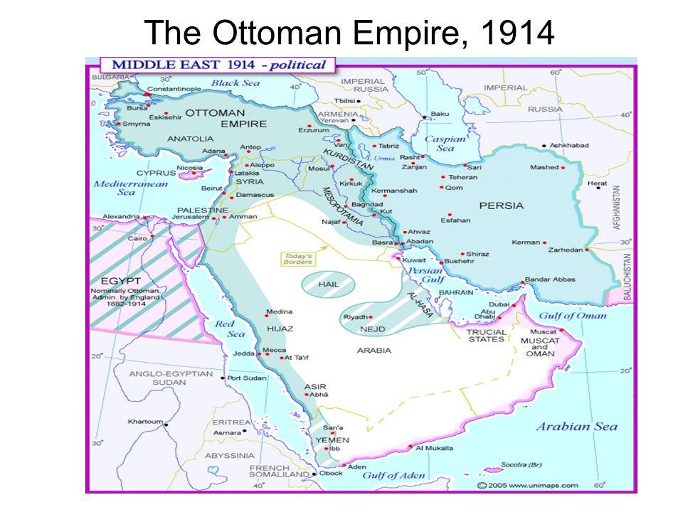 The Ottoman Empire, 1914