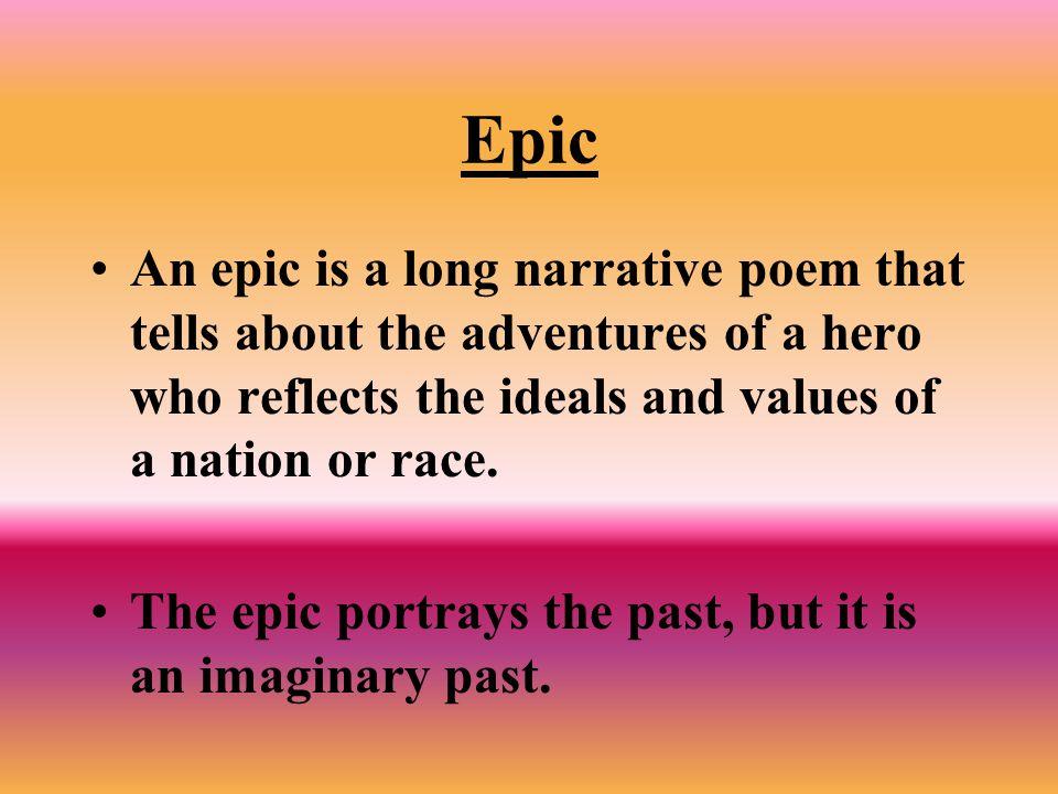 Important Literary Terms Epic Epic Hero Epic Simile Epithet