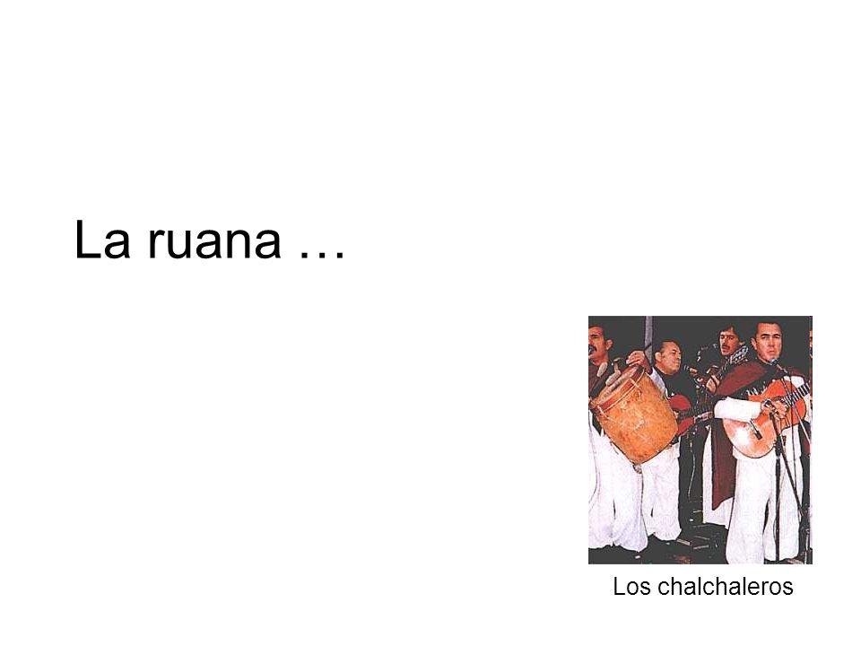 La ruana … Los chalchaleros