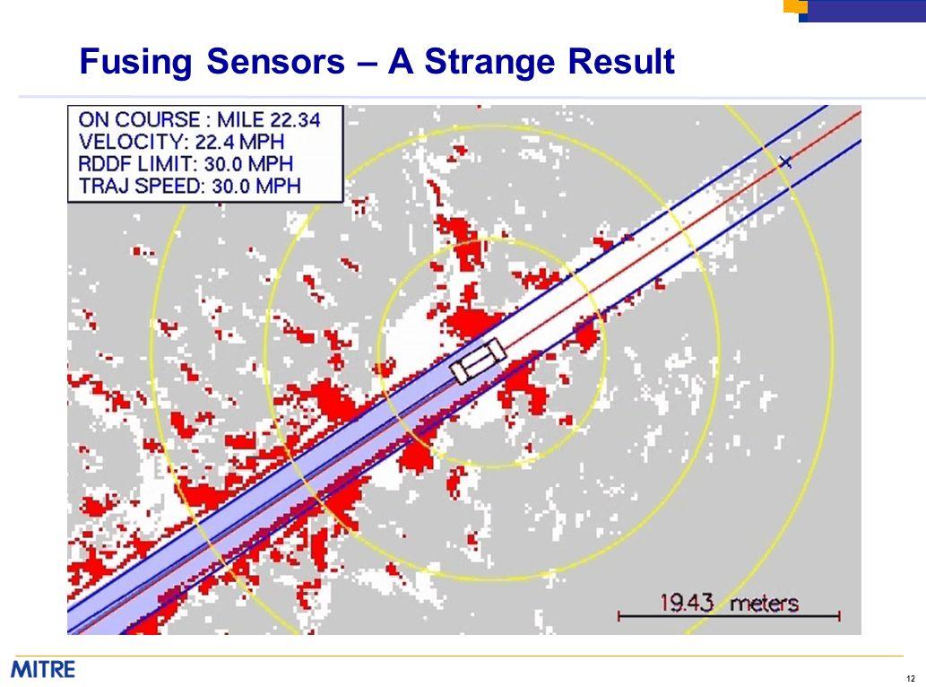 12 Fusing Sensors – A Strange Result