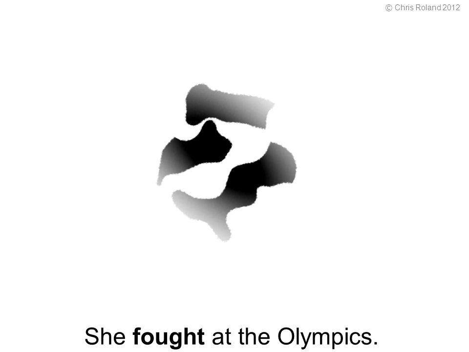 She fought at the Olympics. © Chris Roland 2012