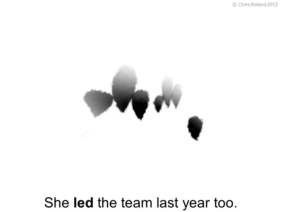 She led the team last year too. © Chris Roland 2012