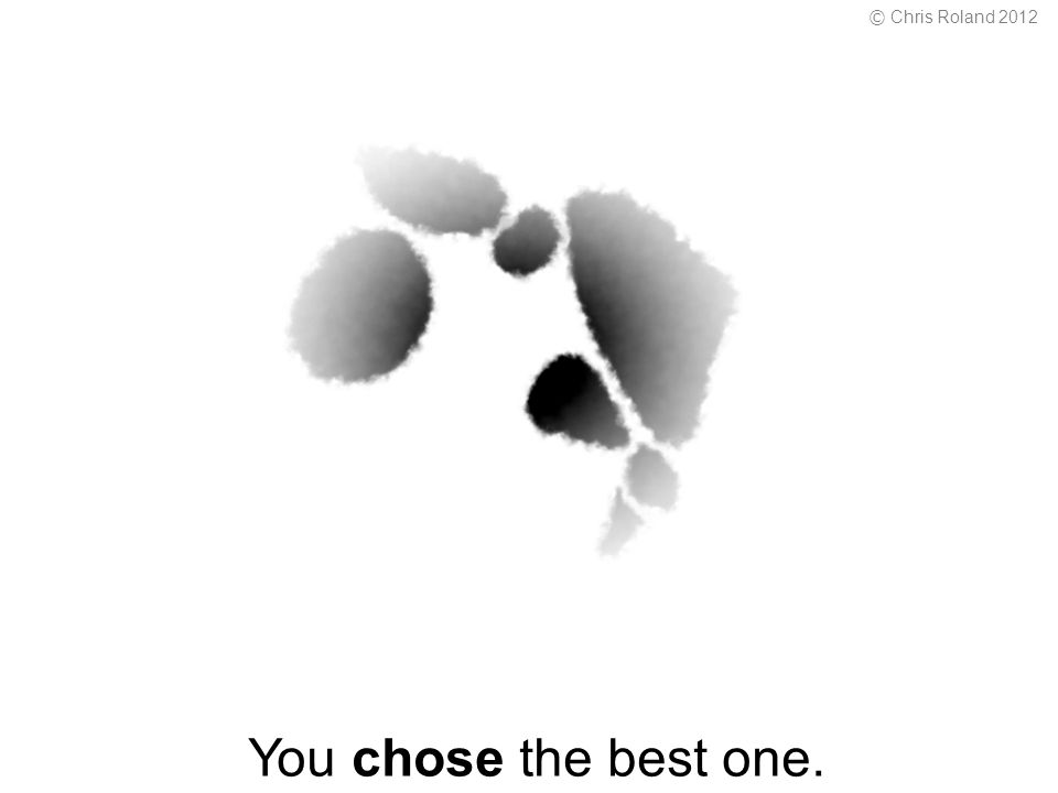 You chose the best one. © Chris Roland 2012