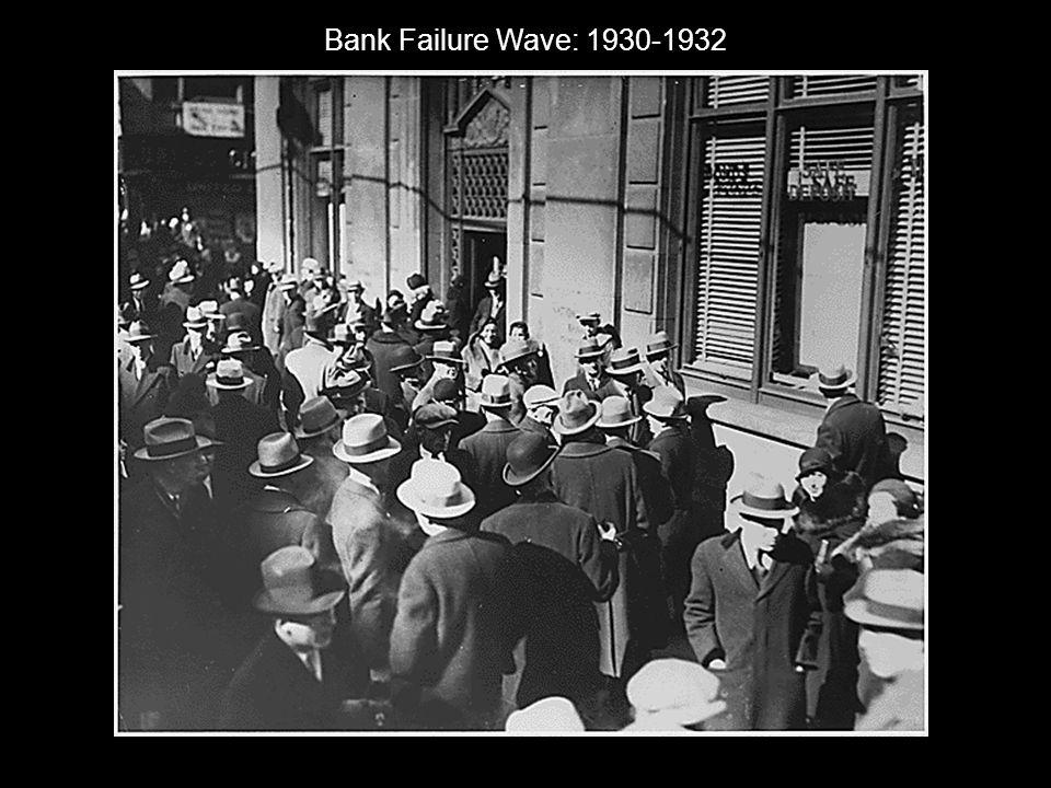 Bank Failure Wave: 1930-1932
