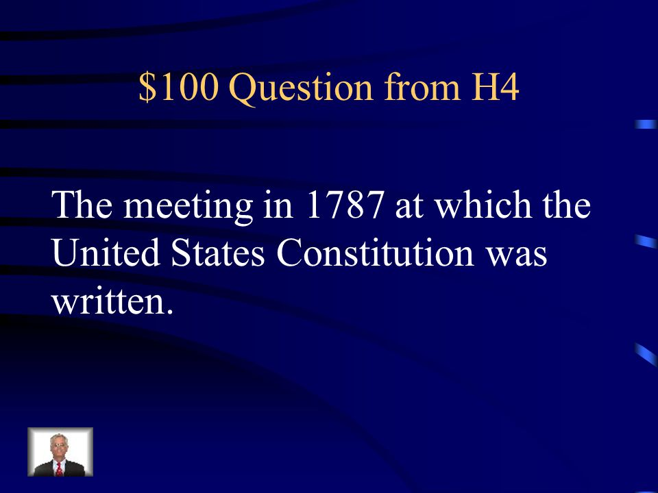 $500 Answer from H3 What is the Treaty of Paris of 1783