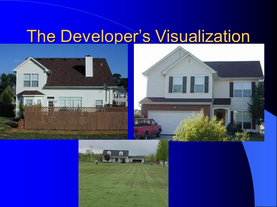 The Developer's Visualization