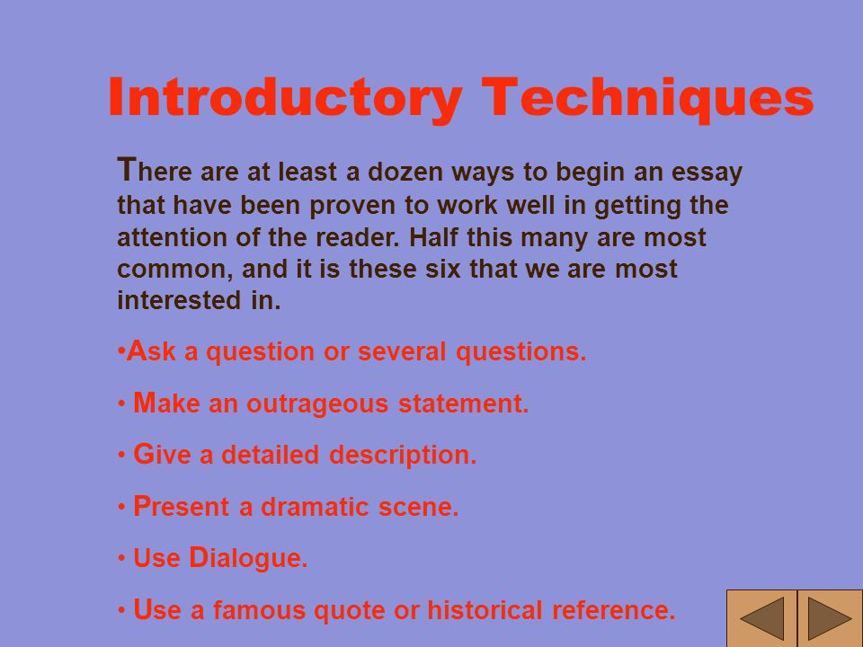 Introduction T he Introduction has two functions. The first function is to get the readers' attention. It is the writer's job (the most important one)