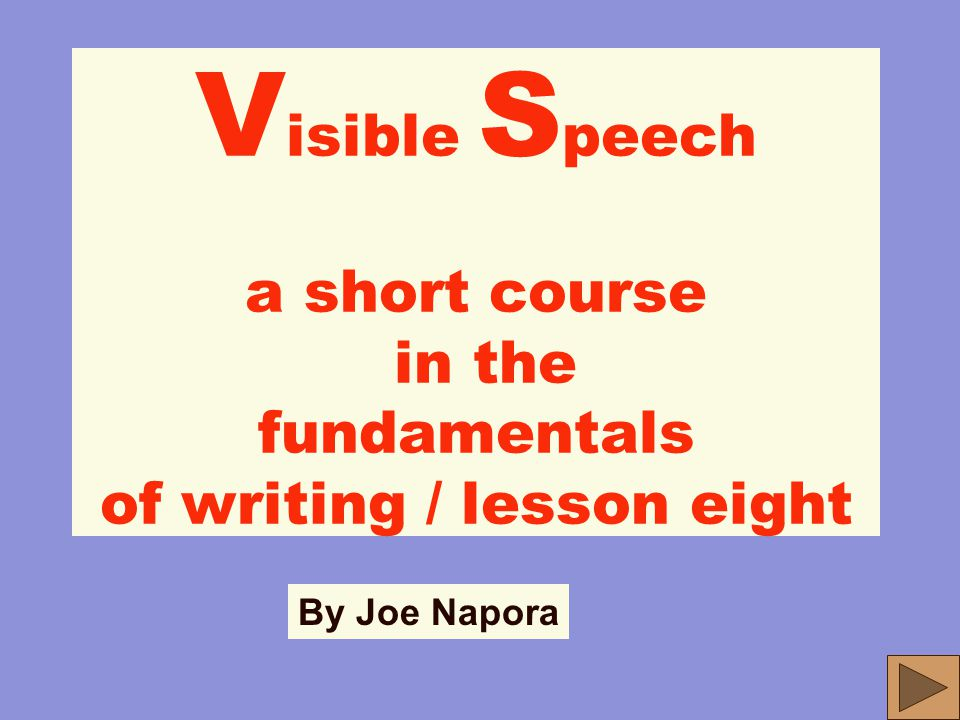 WHAT IS A SENTENCE? LESSONS 8-9 Part Three