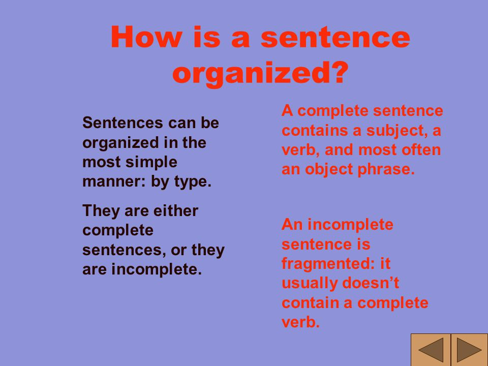 "What is a sentence? Answer: Organized Writing Hey! Isn't this the same answer for ""What is an essay and what is a paragraph?"" Yes, but it is organized"