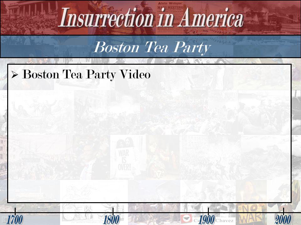 Boston Tea Party   Boston Tea Party Video