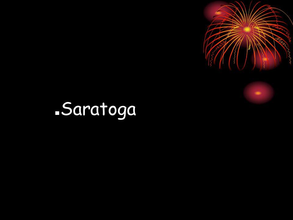 . Saratoga