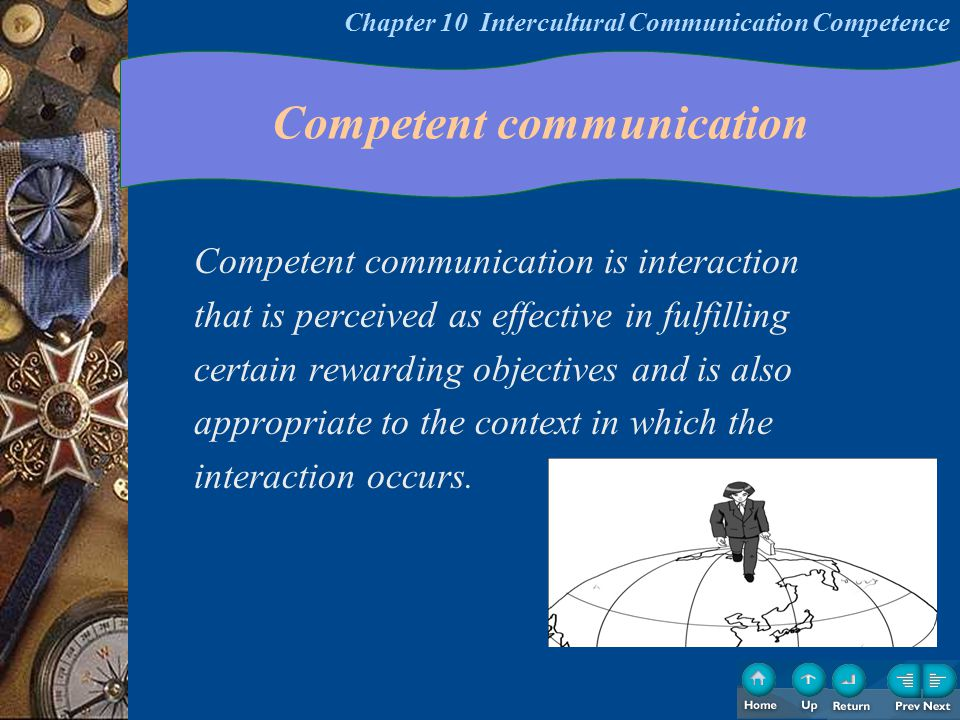 Intercultural Competence Knowledge Situational Features Psychomotor Affective Chapter 10 Intercultural Communication Competence